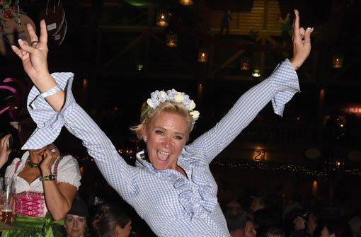 Claudia Effenberg außer Rand und Band