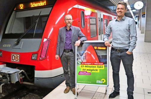 S-Bahn: 15-Minuten-Takt möglich