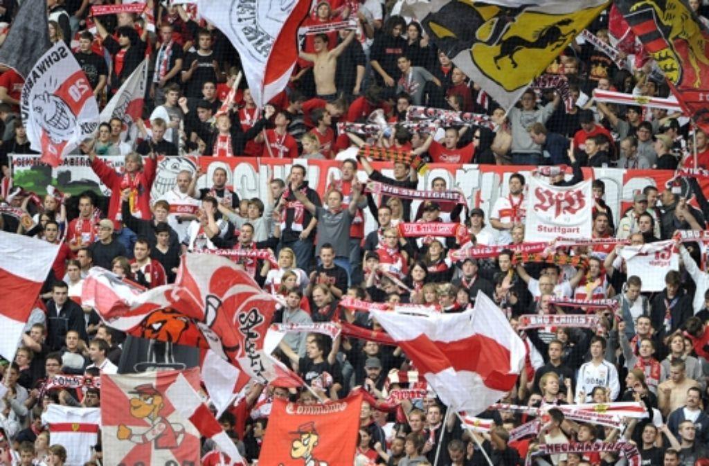 """Die Fans haben entschieden: """"Für immer VfB"""" wird das Stadion-Lied des VfB Stuttgarts. Foto: dpa"""