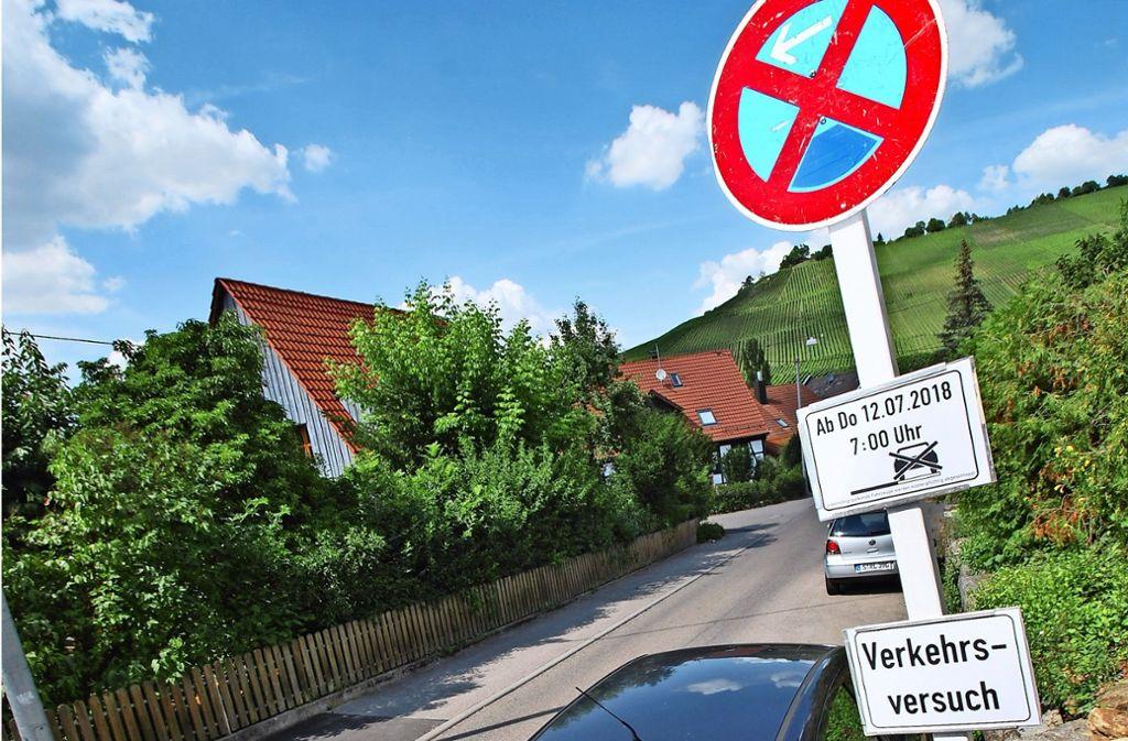 Absolutes Halteverbot gilt von Donnerstag an ab 7 Uhr in weiten Bereichen der Tiroler und der Luise-Benger-Straße. Foto: Sebastian Steegmüller