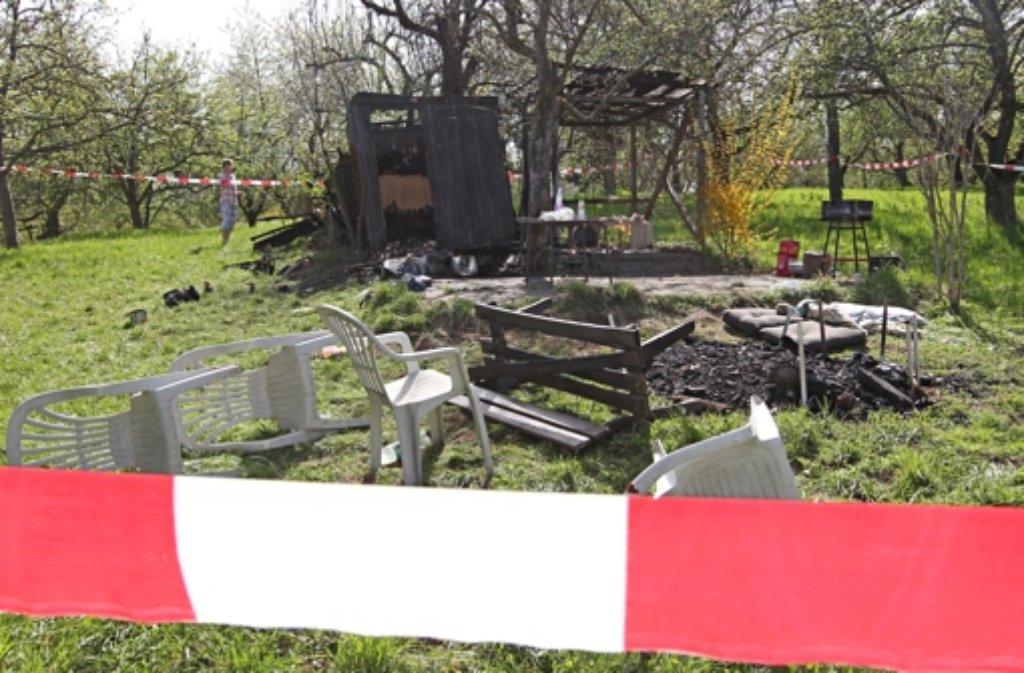 Im April 2011 hatte der Brandanschlag auf Ausländer in Winterbach den Rems-Murr-Kreis erschüttert. Foto: dpa