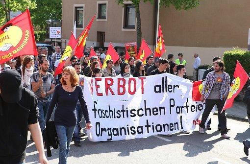 Demo nach Anschlag auf Ausländer