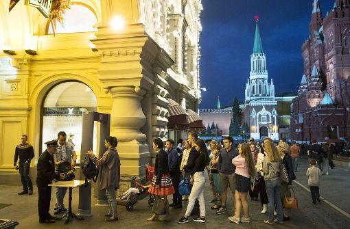 Bombendrohungen versetzen Moskau in Angst