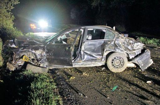 Betrunkener BMW-Fahrer kommt in Gegenverkehr