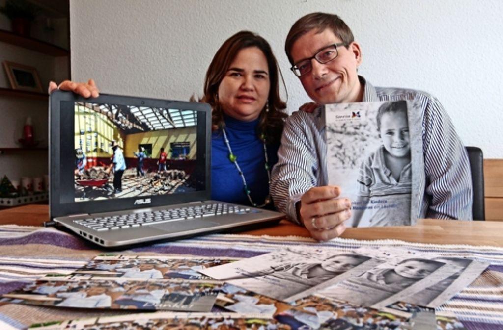 Carolina und Frank Brost engagieren sich für Kinder in Honduras. Foto: factum/Granville