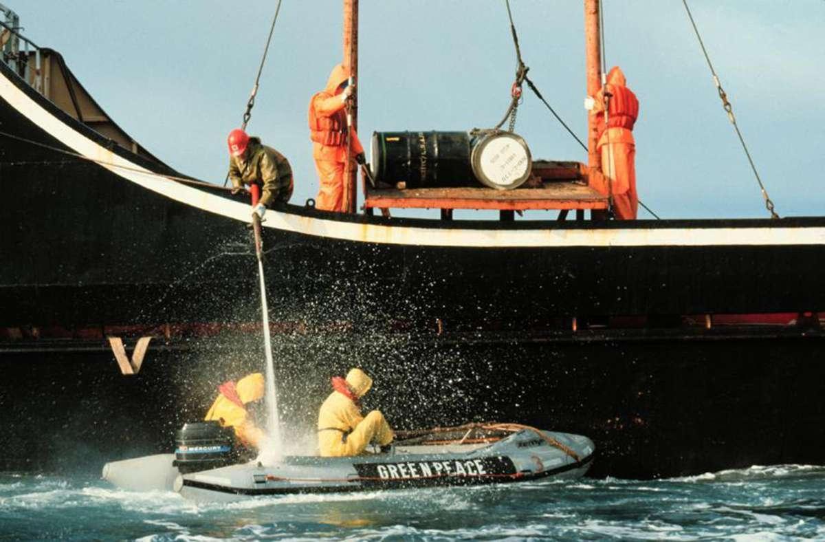 Zur Zeit versucht Greenpeace juristisch für die Umwelt zu kämpfen. Foto: dpa/Pierre Gleizes