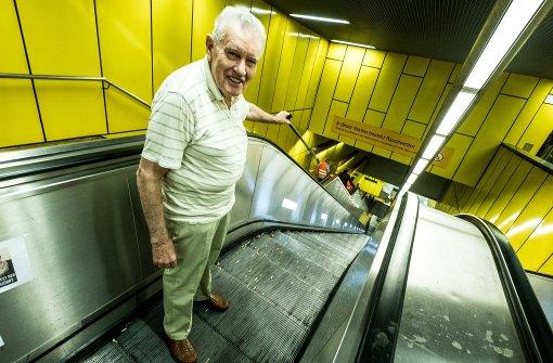 Rolltreppen wochenlang außer Betrieb