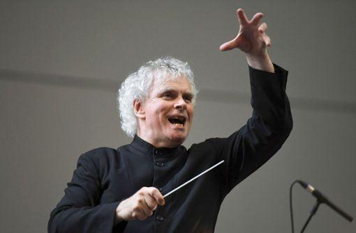 Rattle wird Chefdirigent des BR-Symphonieorchesters