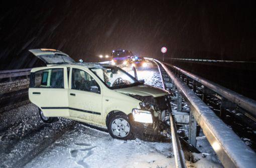 Straßenglätte sorgt für mehrere Unfälle