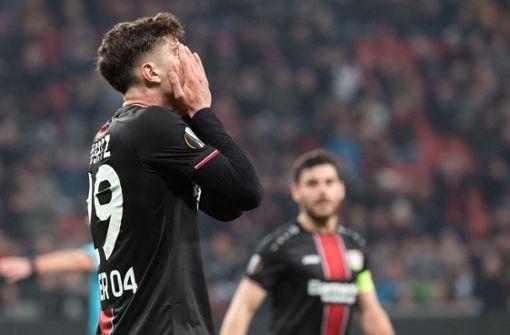 Leverkusen scheidet nach turbulenter Schlussphase aus
