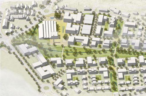 Wohnungen für 1300 Menschen entstehen