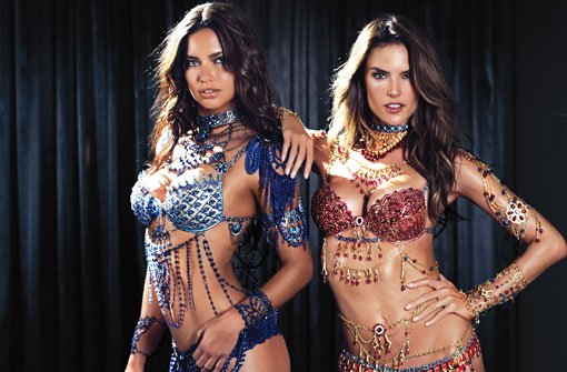 Adriana Lima & Alessandra Ambrosio: Zwei Bombshells im Fantasy Bra