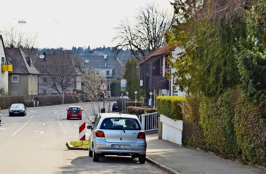 Die Grünen könnten sich eine Temporeduzierung unter anderem an der Heerstraße vorstellen. Foto: Sandra Hintermayr
