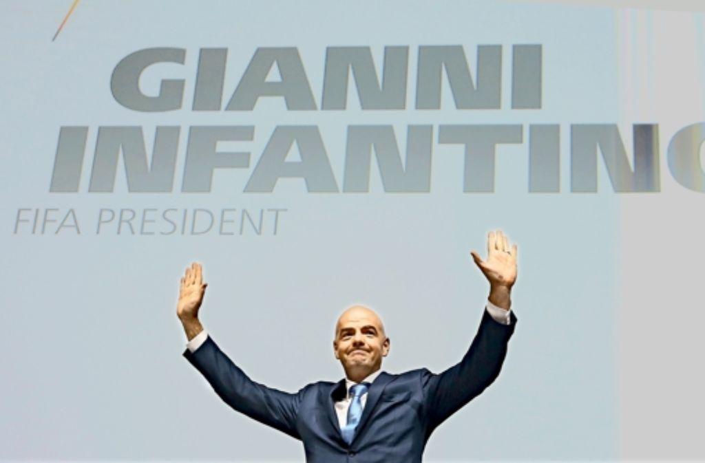 Smart, eloquent, charmant: mit Gianni Infantino soll ein neuer Geist bei der Fifa einziehen. Foto: Getty
