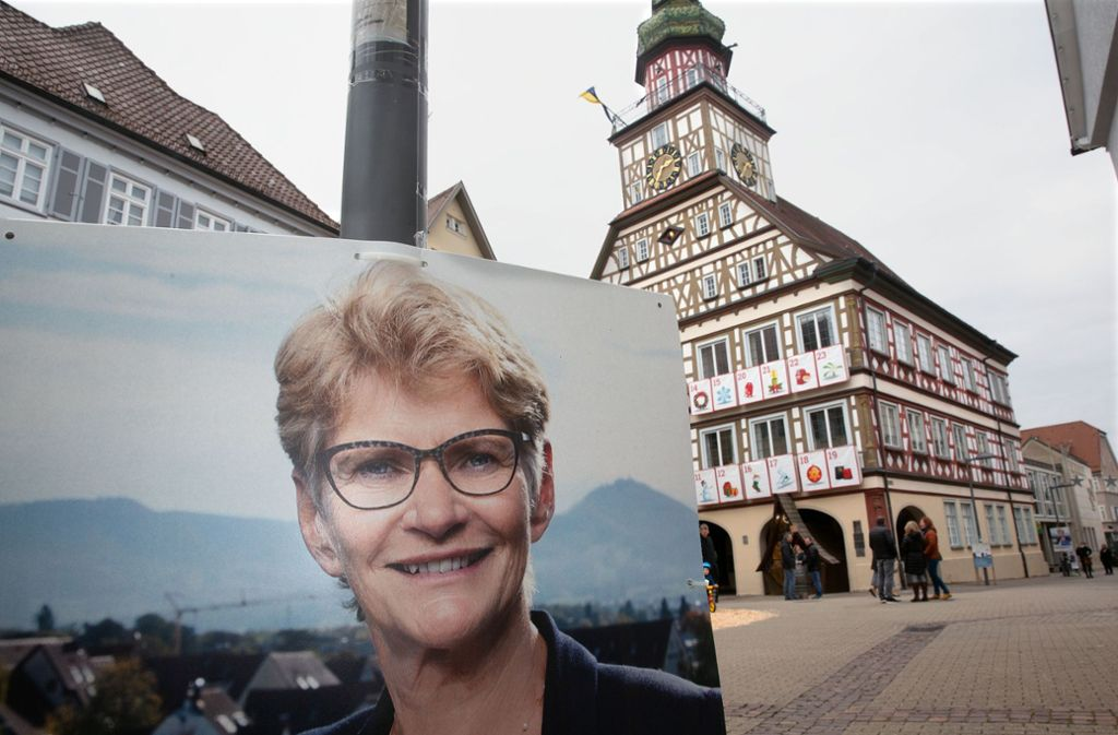 In Kirchheim wurde die Oberbürgermeisterin Angelika Matt-Heidecker nach 16 Jahren abgewählt. Das ging auch schon  anderen Rathauschefs in der Region so. Foto: Horst Rudel/Horst Rudel