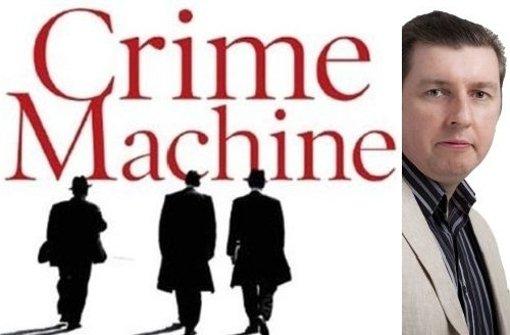 """Sieht wie ein x-beliebiger Mafia-Schmöker aus? Der Eindruck täuscht. """"Crime Machine"""" erzählt spannend und gewitzt vom organisierten Verbrechen in Newcastle. Foto: Heyne/Linskey"""
