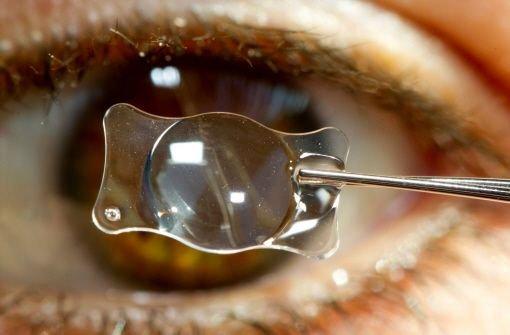 Das Auge trübt sich