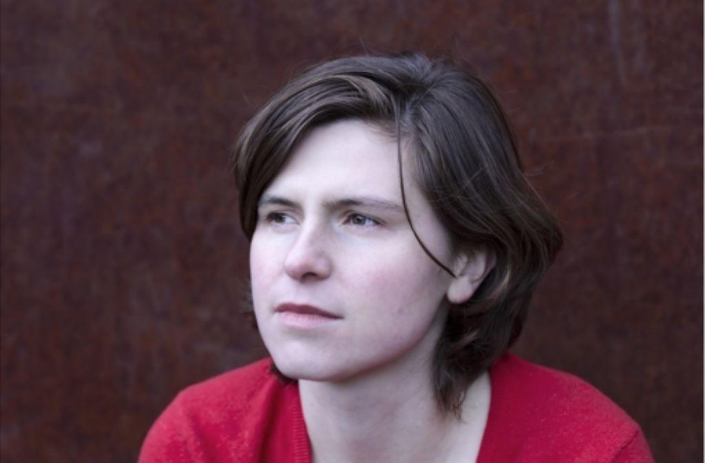"""Judith Schalansky im Interview zu ihren Roman  """"Der Hals der Giraffe"""". Foto: Verlag"""