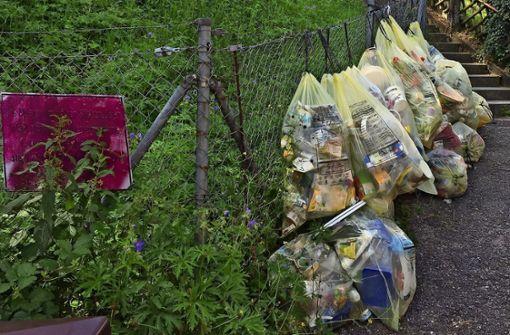 Stadt will Müllsünder ausfindig machen