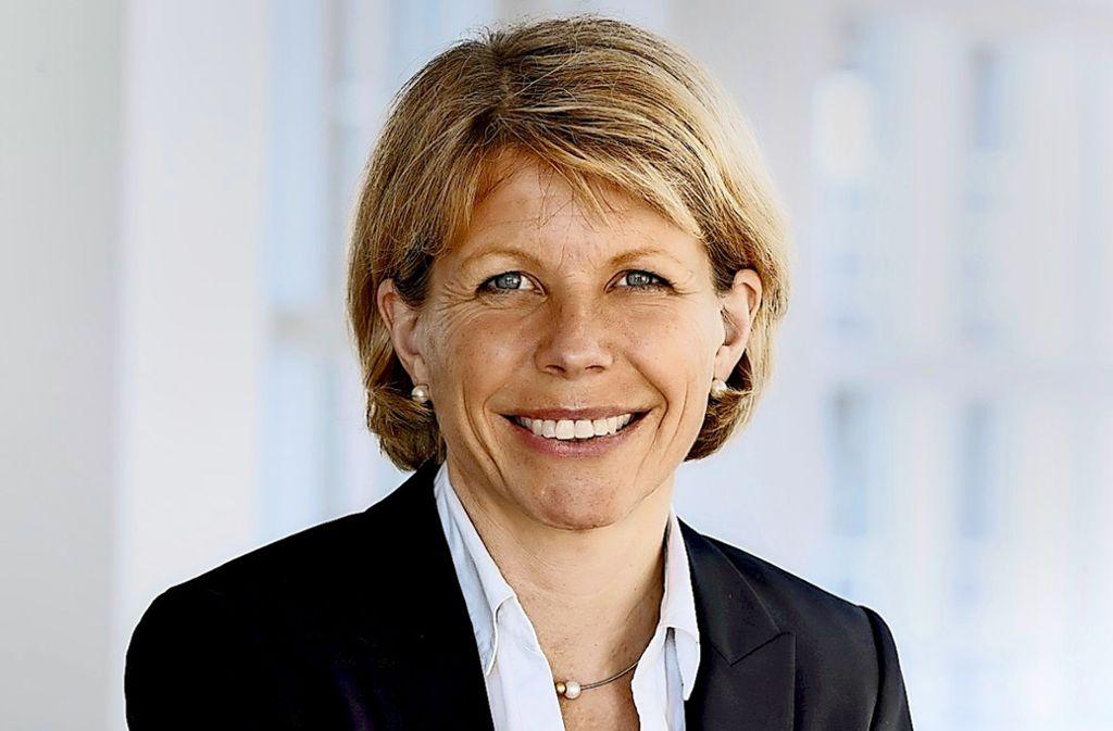 Anke Kleinschmit    hat schon bei Daimler die Digitalisierung in der Produktion  vorangetrieben. Foto: Stihl