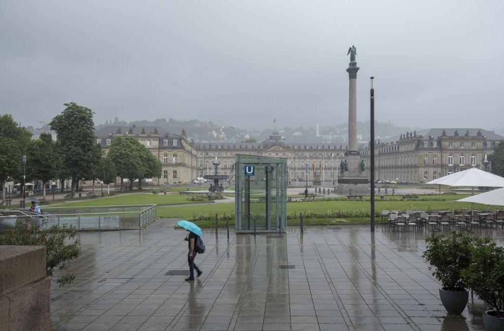 Mit starkem Regen und Gewittern ist von Montagnachmittag an auch in Stuttgart zu rechnen. (Archivbild) Foto: Lichtgut/Leif-Hendrik Piechowski