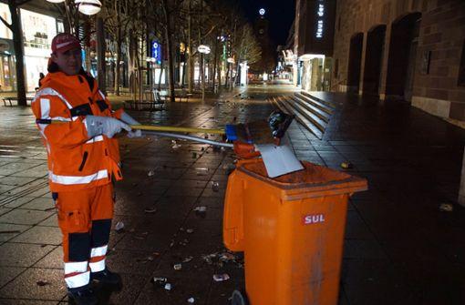 Mülltonnen und Mülleimer sollen voll bleiben