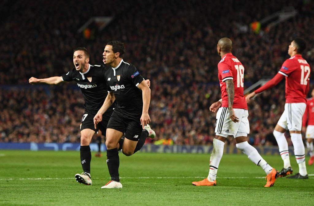Blamage für Manchester United – FC Sevilla steht im Viertelfinale. Foto: Getty Images Europe