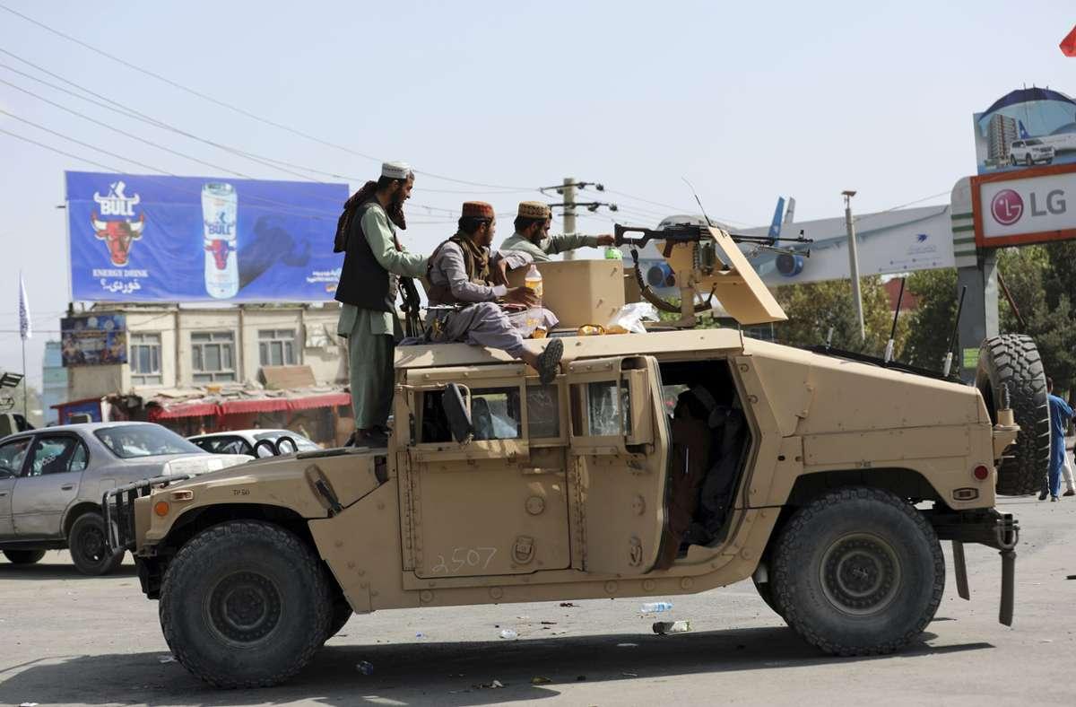Im August haben die Taliban die Macht in Afghanistan übernommen. Foto: dpa