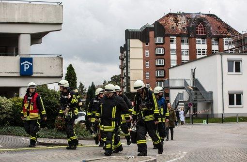 Brand könnte von Patientin gelegt worden sein