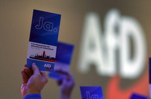 AfD steigt bei Umfrage auf Höchstwert