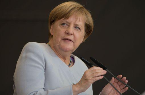 Angela Merkel übermittelt ihre Anteilnahme