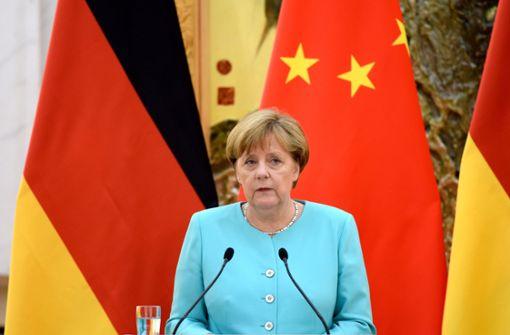 Sanktionen gegen China tun weh