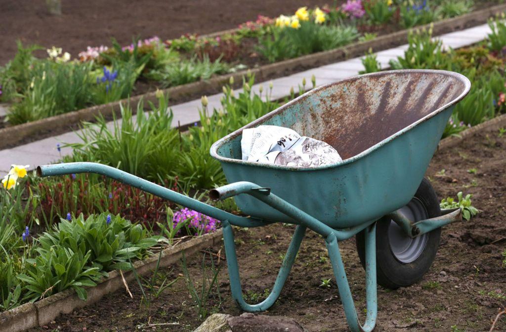 Obst, Gemüse und selbst der Rasen brauchen mehr Unterstützung, um lange Hitzeperioden zu überstehen. Foto: dpa-Zentralbild