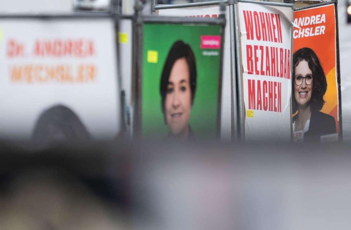 Überall sind sie derzeit zu sehen: Wahlplakate zur Bundestagswahl (Symbolbild). Foto: dpa/Marijan Murat