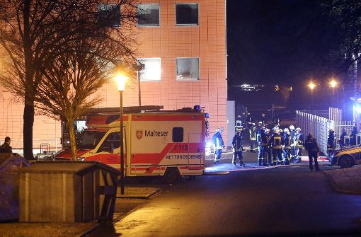 Drei Verletzte nach Brandstiftung in Sigmaringen
