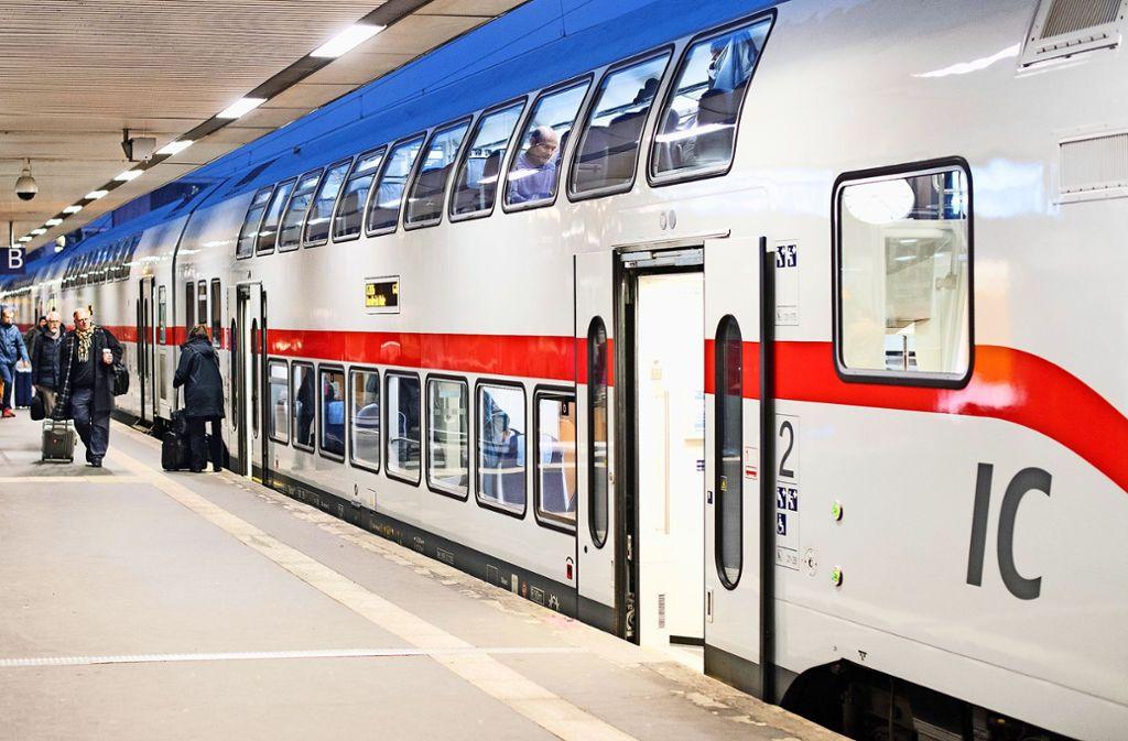 Die Deutsche Bahn will die Qualität auf der Schiene deutlich verbessern. Foto: dpa