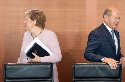 Koalition  steht vor turbulenten Wochen