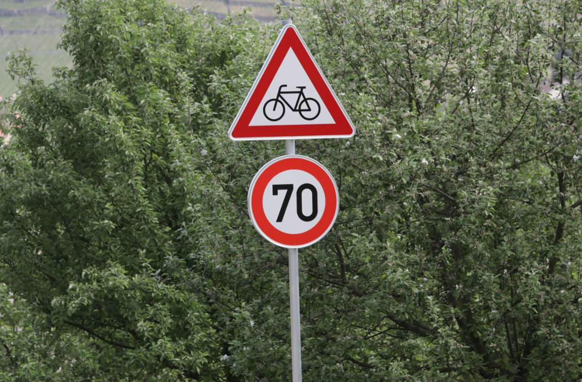Der Bürgermeister hängt nicht an den Ortsschildern, möchte ersatzweise aber Tempo-50-Schilder aufhängen lassen. (Symbolbild) Foto: Patricia Sigerist/Patricia Sigerist