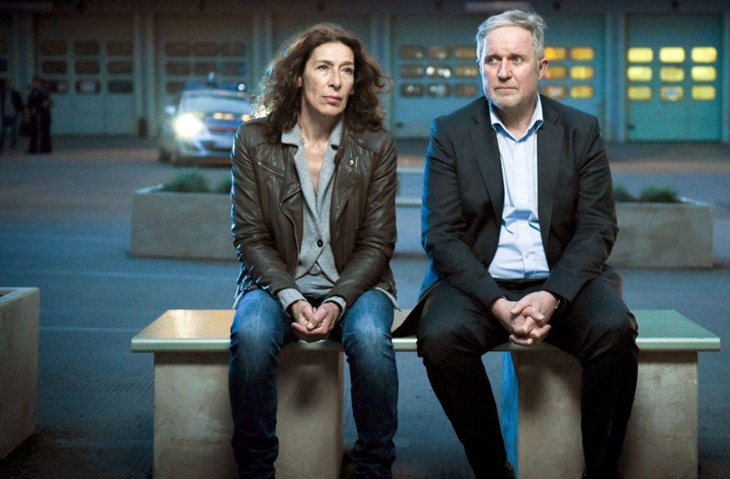 Adele Neuhauser (links) als Wiener Tatort-Kommissarin Bibi Fellner. Foto: ARD Degeto/ORF