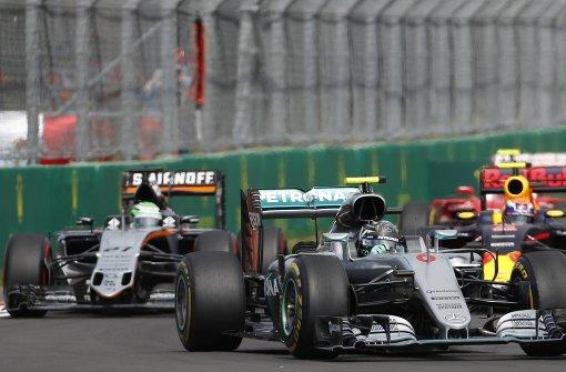 Rosberg ist noch nicht am Ziel
