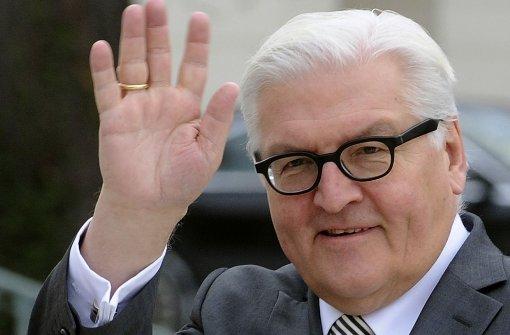 Schwarz-Rot will Steinmeier als Bundespräsidenten