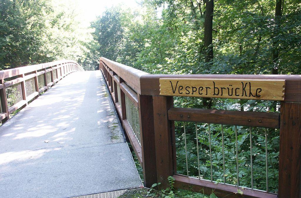 Das Vesperbrückle im Jahr 2010 Foto: Archiv Bürkle