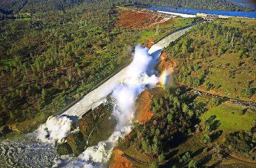 Gefährliche Wassermassen