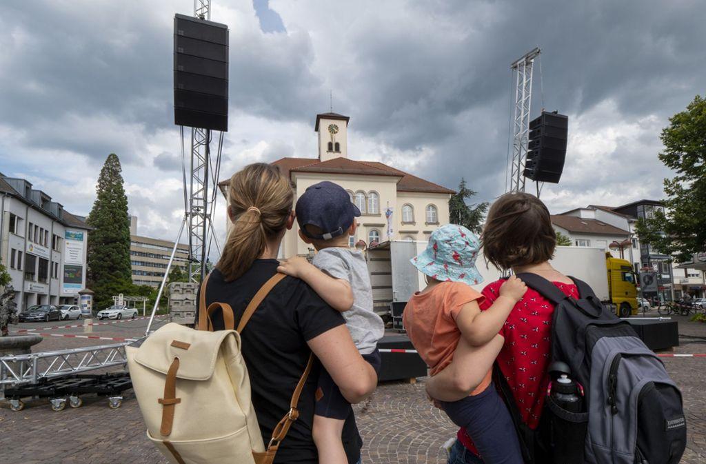 """Das Openair-Festival """"Sindelfingen rockt"""" darf nicht wie ursprünglich gedacht auf dem Marktplatz stattfinden. (Archivbild) Foto: factum/Weise"""