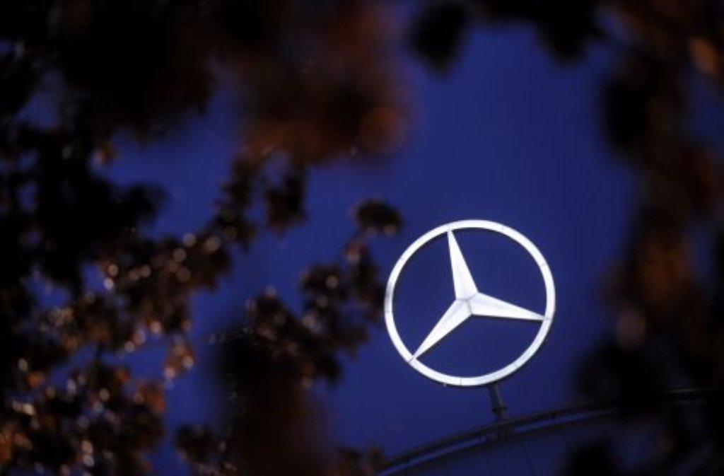 Unter einem guten Stern: Daimler hat in Brasilien einen Großauftrag an Land gezogen. Foto: dapd