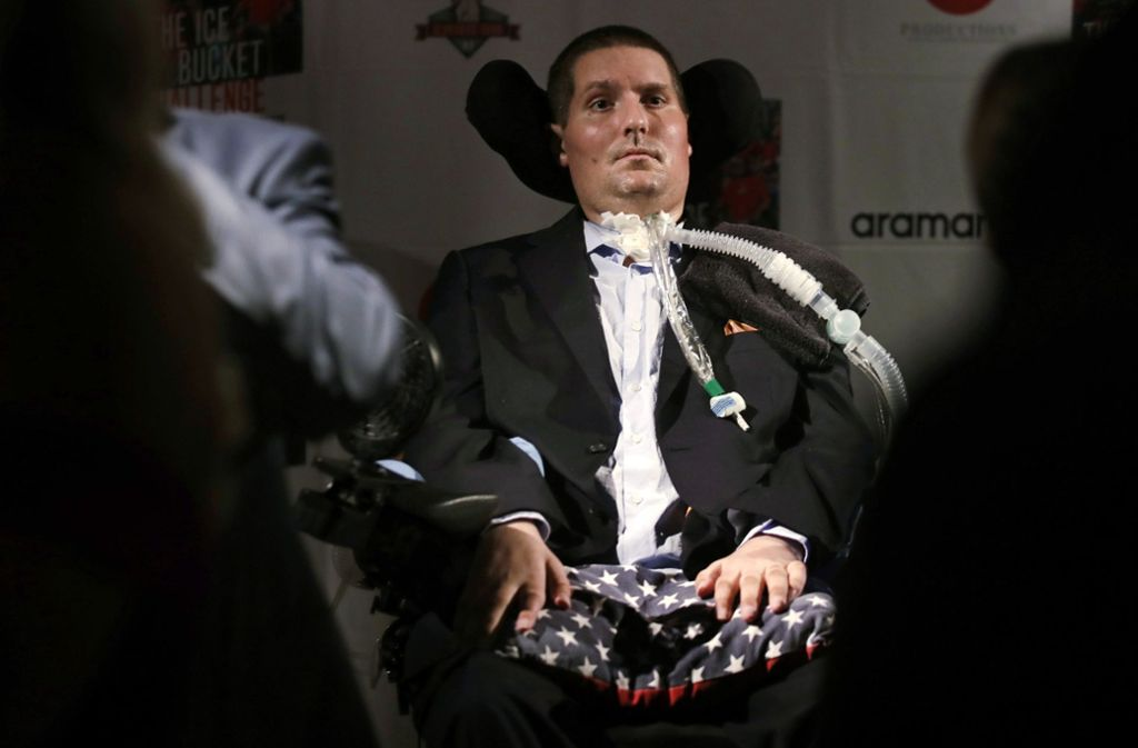 Pete Frates starb mit 34 Jahren. Foto: AP/Charles Krupa