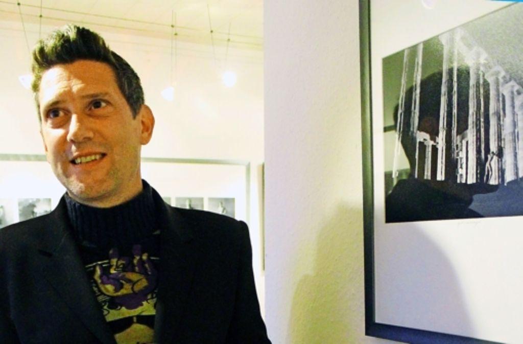 Marc Antonios Motive lehnen sich nicht nur an die Mythenwelt der  Antike und die  italienische Renaissance an, sie sind auch mit der Moderne  verbunden Foto: Martin Bernklau