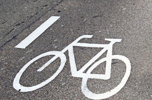 Die Fahrrad-Schutzstreifen gibt es nur auf Probe