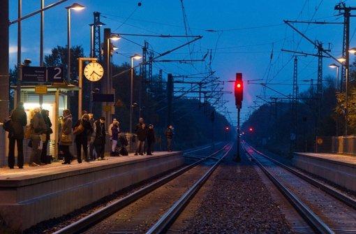 Stuttgart 21 bremst Züge  aus