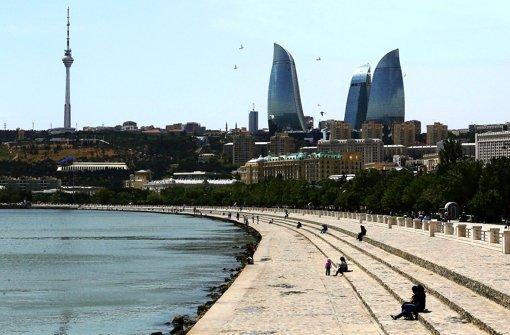 Seit dem Eurovision Song Contest ist Aserbaidschans Hauptstadt Baku vielen Menschen ein Begriff Foto: dpa